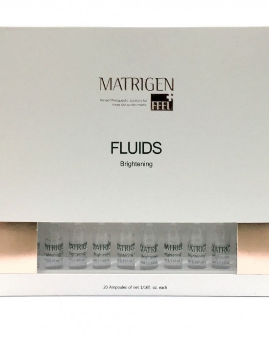Matrigen Brightening Fluids Skin Care Ampoule Set Fluid Ampoule 2ml x 20ea